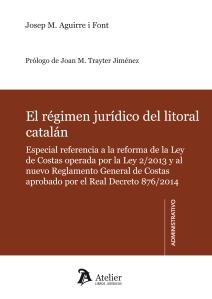portada régimen jurídico litoral catalán